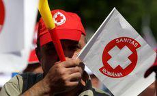Sindicaliştii de la Sanitas pichetează, astăzi, Ministerul Muncii. Ei susțin că OUG 114 le afectează grav salariile
