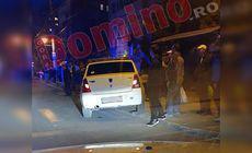 O șoferiță beată a lovit un pieton într-o stație de autobuz din Târgu Jiu. Ce a făcut după accident / FOTO