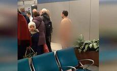 Un bărbat dezbrăcat a vrut să se îmbarce într-un avion, la Moscova. Motivul uluitor pe care l-a invocat / VIDEO