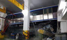 Metroul deraiat la depoul IMGB a rămas suspendat pe șine, din ianuarie! Sindicaliștii acuză indiferența autorităților
