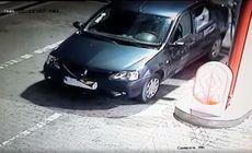 Un șofer și-a făcut plinul într-o benzinărie din Iași și a fugit fără să plătească. Cum a procedat pentru a nu fi prins / VIDEO