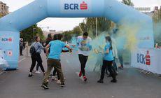 FOTO | The Color Run 2019. Mii de bucureșteni se distrează și se lasă colorați în centrul Capitalei