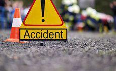 Un copil de 11 ani a provocat un accident teribil în Vaslui. A lovit două mașini și o conductă de gaz
