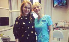 Alina Sorescu, pe mâinile doctorului stomatolog. Artista a împărtășit totul cu prietenii virtuali