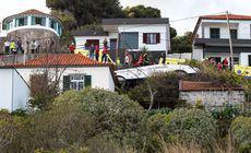 VIDEO | 29 de turiști au murit, după ce un autocar a căzut într-o prăpastie, pe insula portugheză Madeira. Sunt și 27 de răniți, dintre care șapte în stare gravă