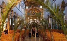 FOTO | Catedrala Sfântul Dumitru din Salonic, pregătită pentru Duminica Floriilor