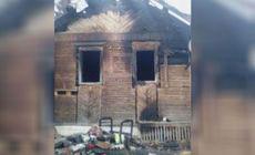 O mamă din Rusia s-a îmbătat și le-a dat foc copiilor ei