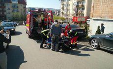 Un bărbat a căzut de pe o biserică aflată în construcție în Cluj
