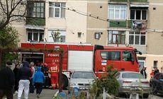 Explozie într-un bloc din Constanța, din cauza unei acumulări de gaze de la o butelie. Un bărbat a fost rănit