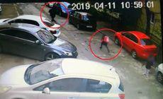 VIDEO | O fată de nouă ani a fugărit hoțul care i-a furat telefonul