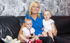 Povestea miraculoasă a gemenelor despre care medicii au spus că una trebuie să moară pentru ca cealaltă să supraviețuiască