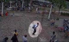 Imagini cu presupusul atentator sinucigaș, înainte de a comite atentatul într-o biserică din Sri Lanka / VIDEO