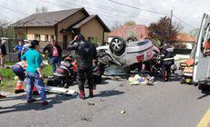 Polițist din Pitești, mort într-un accident de motocicletă, în localitatea Stâlpeni