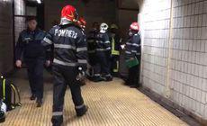 UPDATE | O femeie de 60 de ani a murit după ce s-a aruncat în fața trenului la stația de metrou Gorjului