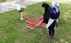 Măicuțele de la Mânăstirea Timișeni-Șag au înroșit în Vinerea Mare 1.000 de ouă. Acesta vor ajunge la oamenii nevoiași