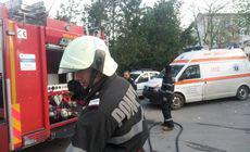 O femeie din Vaslui și-a incendiat casa, după ce a adormit cu mâncarea pe foc