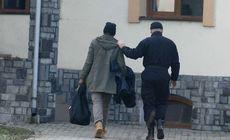 Kosovar prins trecând ilegal frontiera dintre Serbia și România