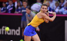 LIVETEXT | Simona Halep – Kristina Mladenovic, acum, la Rouen. Început echilibrat de partidă. Anela și Boc conduc galeria de mii de români. Ion Țiriac este în lojă