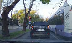 Șoferul unui troleibuz din Timișoara a trecut intenționat pe roșu |VIDEO