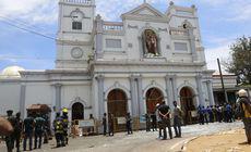 VIDEO | Momentul în care explodează una dintre bombele de la o biserică din Sri Lanka