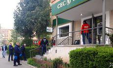 Tentativă de jaf la banca din Brașov prădată în decembrie. Atunci, hoții au aruncat în aer bancomatul