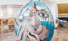 Picturi celebre, reproduse pe ouă gigant