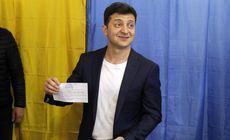UPDATE | Exit-poll-uri: Vladimir Zelenski a câștigat alegerile prezidențiale din Ucraina. Mesajul transmis de actor după victorie