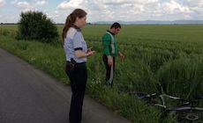 Trei biclicliști loviți de mașini în Arad, în numai 30 de minute. Unul dintre ei a fost decapitat în urma impactului violent