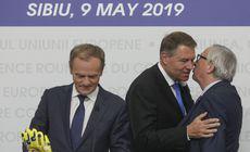 Klaus Iohannis participă la reuniunea Consiliului European de la Bruxelles. Pe agendă, numirile în funcţiile de conducere ale instituţiilor europene. Şeful statului, vehiculat ca favorit pentru şefia Consiliului European, în locul lui Tusk