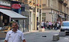 FOTO și VIDEO | Explozie la Lyon provocată de un dispozitiv artizanal. Cel puțin 13 persoane au fost rănite. Prima reacție a lui Macron