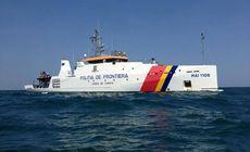 VIDEO | Marinari turci prinși la braconaj în Marea Neagră, răniți de polițiștii de frontieră români. Pescadorul lor a fost scufundat