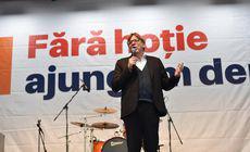 """Miting USR-PLUS în Parcul Izvor, în ultima zi de campanie electorală. Guy Verhofstadt: """"Vom crea o nouă mişcare în Europa"""""""