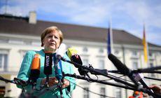 """Angela Merkel promite eforturi pentru un Brexit """"ordonat"""" şi după demisia premierului britanic"""