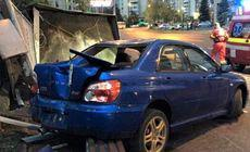 Un șofer a făcut prăpăd într-o stație din Brașov. O femeie s-a ales cu un picior amputat
