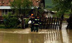 INHGA: Cod galben de inundaţii în 14 bazine hidrografice, până marţi după-amiază