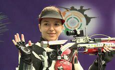 Laura Coman s-a calificat la Jocurile Olimpice, în proba de tir sportiv