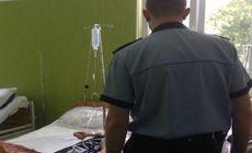 Un paznic de la un spital din Lugoj l-a trimis pe un vizitator direct la Urgențe! Agresorul s-a ales cu dosar penal
