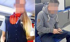 FOTO | Ce le făcea o controloare din Germania pasagerilor pe care îi prindea fără bilet.A fost dată afară pentru gestul ei