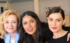 Actrița Rodica Lazăr s-a împrietenit cu Salma Hayek, la Festivalul de la Cannes