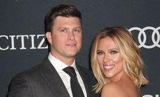 Scarlett Johansson s-a logodit cu Colin Jost, cunoscut de la Saturday Night Live