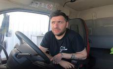 """Replica genială a șoferului de TIR către viceprimarul care a zis că tiriștii """"stau și învârt de volan, pentru 2.000 de euro"""""""