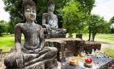 FOTO | Descoperire uluitoare într-o statuie a lui Buddha veche de 1.000 de ani