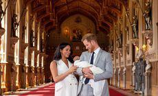 FOTO | Prima imagine cu chipul lui Archie, fiul lui Meghan Markle și al Prințului Harry