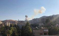 O explozie de proporții s-a produs în vestul Damascului, în Siria