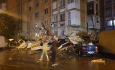 FOTO | Furtunile au făcut prăpăd în mai multe zone din țară: case distruse, drumuri blocate și mașini avariate