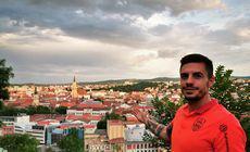 """Fundașul Andrei Burcă explică de ce a refuzat FCSB și a semnat cu CFR Cluj: """"Am visat de mic să joc în Liga Campionilor"""""""