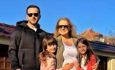 """Mihai Morar și soția au ales numele celui de-al treilea  copil. """"A fost cea mai mare dispută în familie"""""""