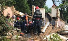 Doi tineri din județul Botoșani au fost prinși sub un zid care s-a dărâmat peste ei