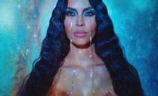FOTO Kim Kardashian șochează cu o nouă fotografie topless
