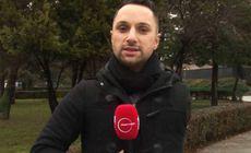 Povestea lui Cristi Georgescu, reporterul cu o singura mana. A fost gasit pe podea cu bratul retezat